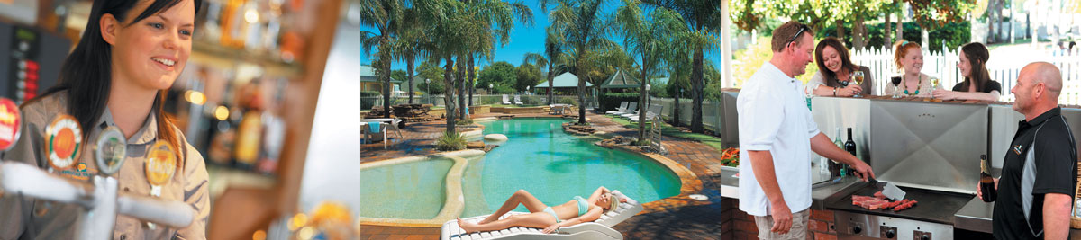 golf resort swan hill